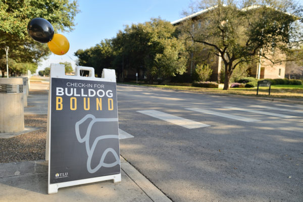 Bulldog Bound sign