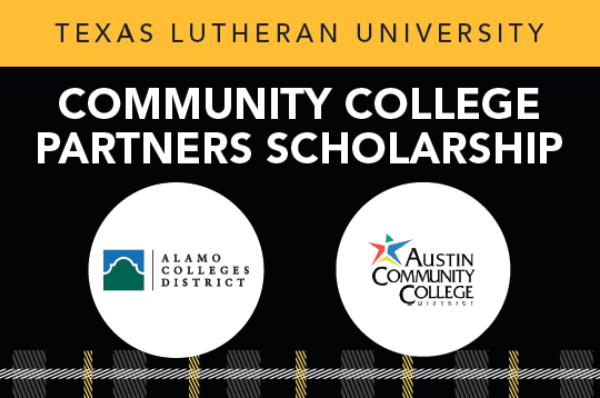 Community College Partners Scholarship graphic