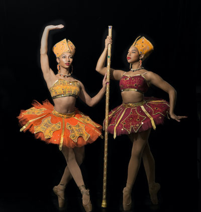 Hiplet Ballerinas performing