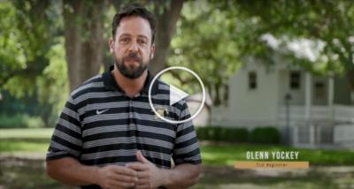 TLU Registrar Glenn Yockey