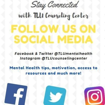 TLU Counseling Social Media Accounts