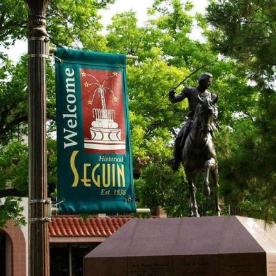 Welcome To Seguin Banner