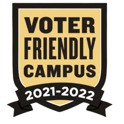 Voter Friendly Campus Badge